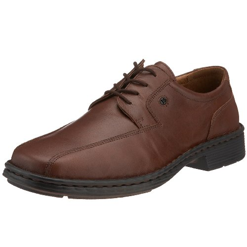 Josef Seibel Men's Burgess Leather Lace-Up Marone 38010 23220 9 UK