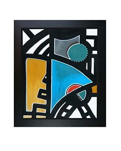 Elwira Pioro Untitled Framed Print On Canvas, Multi, 28.75 x 24.75