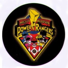 Mighty Morphin Power Rangers Go Go Power Rangers 1.25 Inch Anstecknadel