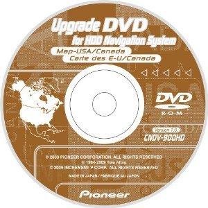 Pioneer Avic-Z1/Avic-Z2/Avic-Z3 2009 Update U.S.A./Canada Map DVD
