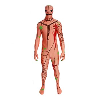 Morphsuits Men's Pumpkin Adult