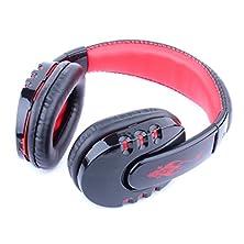 buy Earphone Headphone Dzt1968® Sony Ps3 Playstation 3 Wireless Bluetooth Gaming Headset (Red)