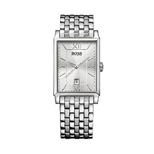 Hugo Boss - 1512466 - Gents Watch - Analogue Quartz - Silver Dial - Stainless Steel Silver Strap