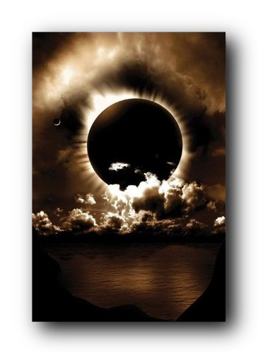 Celestial Alignment Poster Moon Sun Eclipse PP31940
