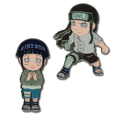 Pins - Naruto - Hinata & Negi (Set of 2)