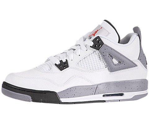 online retailer de499 5d5d6 Nike Jordan Kids Air Jordan 4 Retro Bg Basketball Shoe