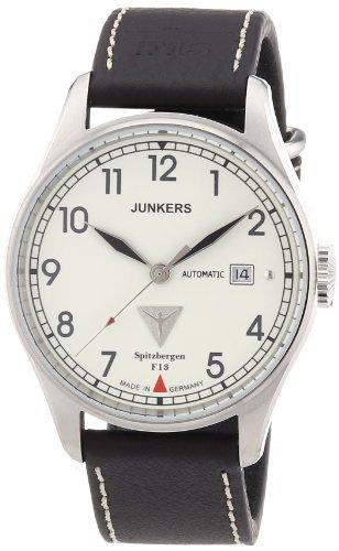 Junkers 61645 - Orologio da polso uomo, pelle, colore: marrone