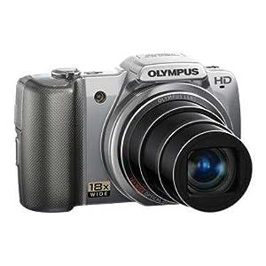 """SZ-10 Silver 14MP Digital Camera Bundle w/ 18x Optical Zoom, 3.0"""" LCD Display, HD Movie - Olympus"""