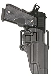 BlackHawk Carbon-fiber SERPA Holster, Black, SIG 220/226