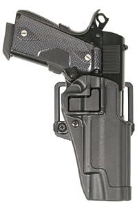 BlackHawk Serpa CQC Belt Loop and Paddle Holster For Glock 17 Left Hand Black