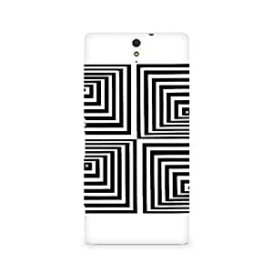 Mobicture Girl Abstract Premium Designer Mobile Back Case Cover For Sony Xperia C5