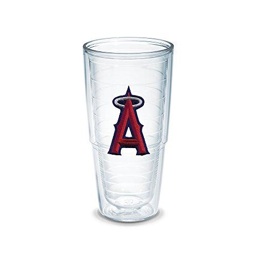"""Tervis 1029498 """"MLB La Angels"""" Tumbler, Emblem, 24 oz, Clear"""