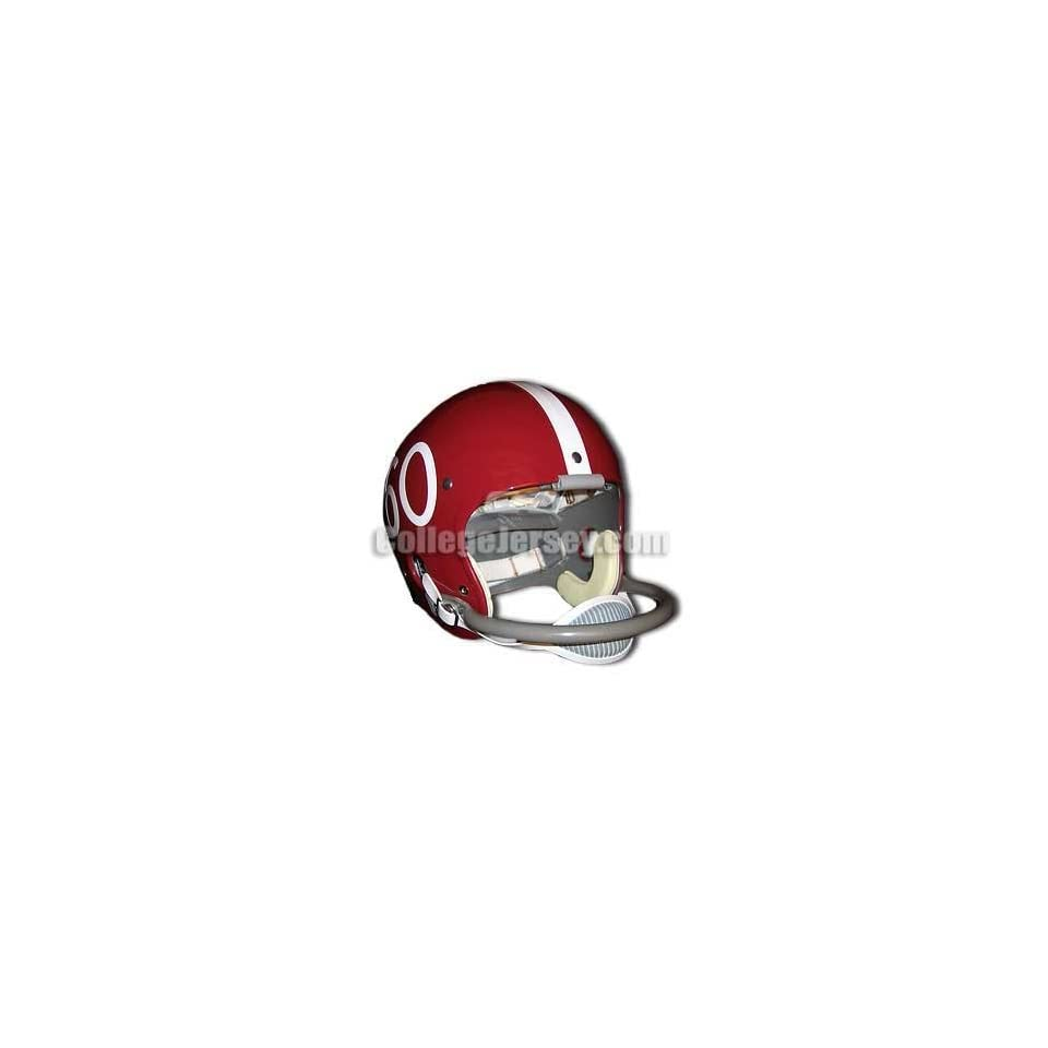 Alabama Crimson Tide Throwback Helmet Memorabilia.