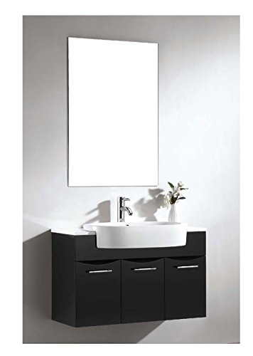 Dawn Ret251405 06 Ceramic Lavatory 5 1 4 Thickness Sink Top With Overflow And Single Hole