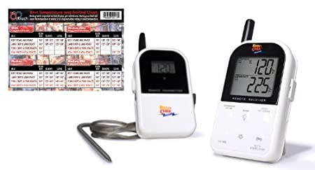 Maverick ET732 Long Range Wireless Dual 2 Probe BBQ Smoker Meat Thermometer Set $44.99