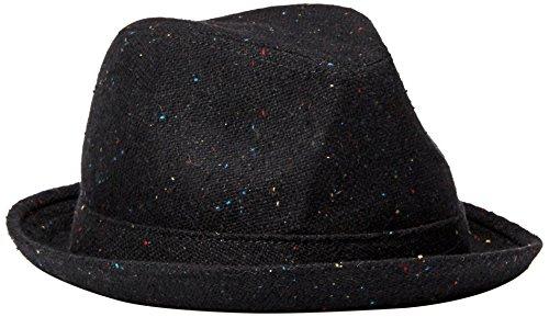Goorin Bros. Men's Rebel Fedora, Black, Extra Large (Fedora Hats Extra Large compare prices)