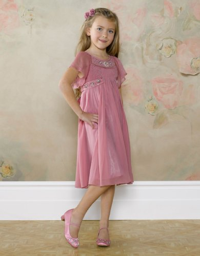 Monsoon Girls Iliana Hand Beaded Dress