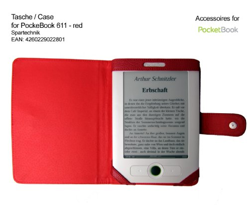 spartechnik-funda-para-e-reader-pocketbook-611-pocketbook-613-y-basic-obreey-y-lidl-color-rojo