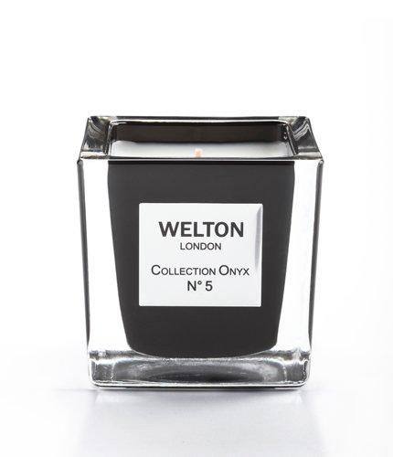 WELTON LONDON ウェルトンロンドン ONYX COLLECTION フレグランスキャンドル 150g NO.5