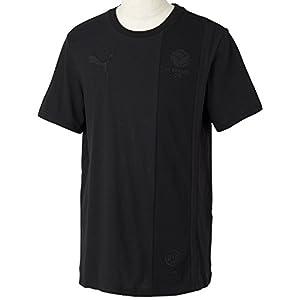 PUMA Herren T-Shirt BVB Archives Ringer Tee, Black, M, 745920 01