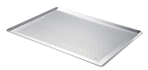 De Buyer 7367.40 Plaque Pâtissière Micro-perforée Aluminium non revêtu 40 x 30 cm