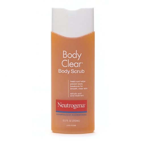 Johnson And Johnson Neutrogena Body Clear Scrub, 8.5 Ounce -- 24 Per Case. front-992943