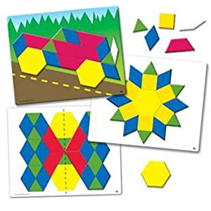 Learning Resources Parquetry Blocks and 20 Pattern Cards | Wayfair