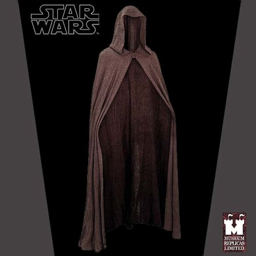 Star Wars Luke Skywalker Jedi Cape Robe Cloak Costume