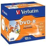 Verbatim DVD-R 4.7GB 16x 10 Pack JC: 43521 (43521)