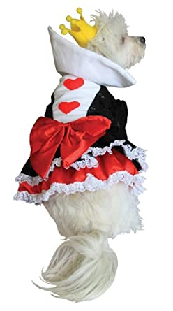 Anit Accessories Queen Of Hearts Dog Costume, 20-Inch