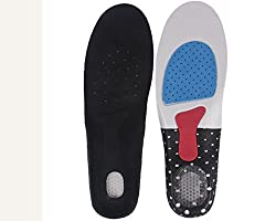 Importikah Orthotic Arch Support Shoe Pad Insoles, Sport Running and Walking for Men & Women