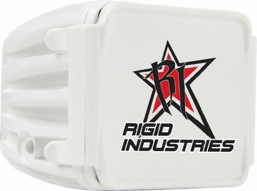 Rigid Industries 20196 White Protective Polycarbonate Light Cover