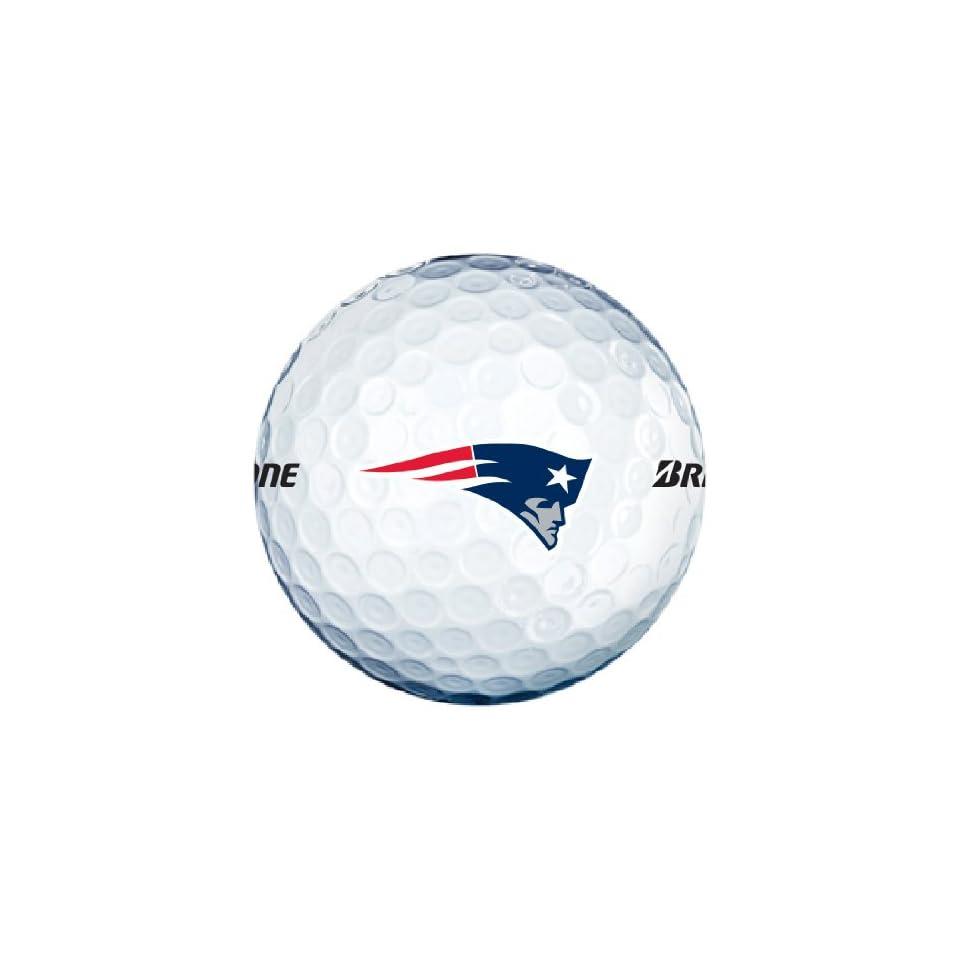 NFL New England Patriots 2013 Logo Golf Balls (Pack of 12)  Sports Fan Golf Balls  Sports & Outdoors