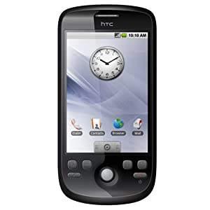 HTC Magic A6161 Android G2 Unlocked Phone with Quad-Band GSM, 3.2 MP Camera, MP3/Video Player, and MicroSD Slot--International Version with Warranty (Black)