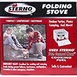 Sterno Single Burner Folding Stove - 50002