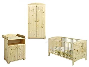 Kinderzimmer - Dream - Massivholz Kiefer geölt - 2-turig - von Schardt