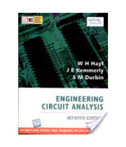 Engineering Circuit Analysis, 7/E (Sie) Pb