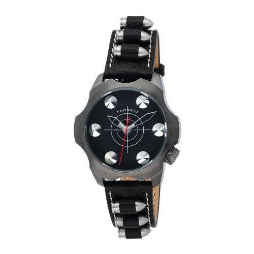 Android Men's AD435BGNK Revolver 48 Black Dial Watch