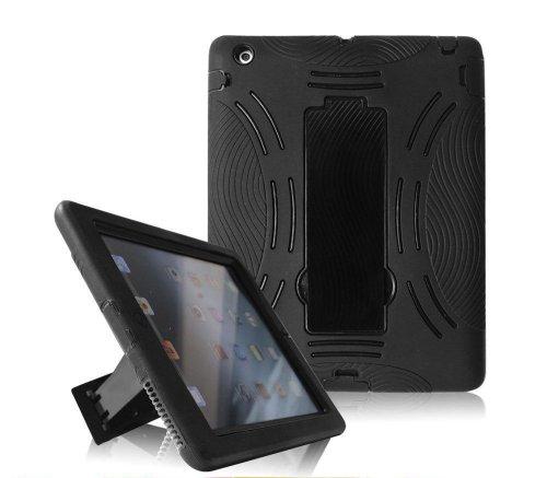 Buy Discount Dynamic Buddy Ipad Kickstand Case - Dual Layer Heavy Duty Hard Soft Combo Hybrid Kickst...