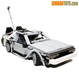 BTTF DeLorean DMC-12 V3.0 - Custom LEGO Model