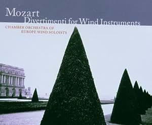 Mozart - Divertimenti et Sérénades pour instruments à vent (5 CD)
