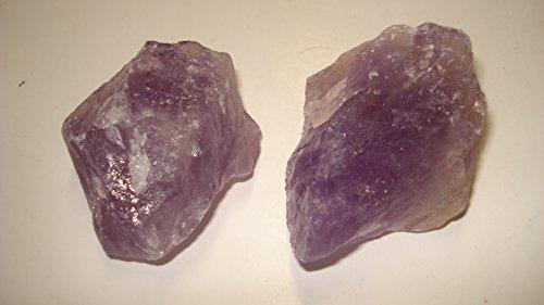 (#3) 2Pc Bolivia Amethyst & Ametrine Premium Quality Medium/Large Choice Piece Raw Rough 100% Natural Crystal Gemstone Specimen