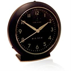 Westclox 1949 Big Ben Quartz Black Alarm Clock