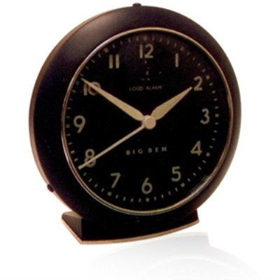 Westclox 1949 Big Ben Quartz Black Alarm Clock