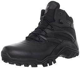 Bates Men\'s Delta Side Zip 6 Inch Uniform Boot, Black, 9.5 XW US