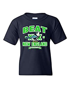 Beat New England Seattle Football Fan Wear DT Youth Kids T-Shirt Tee