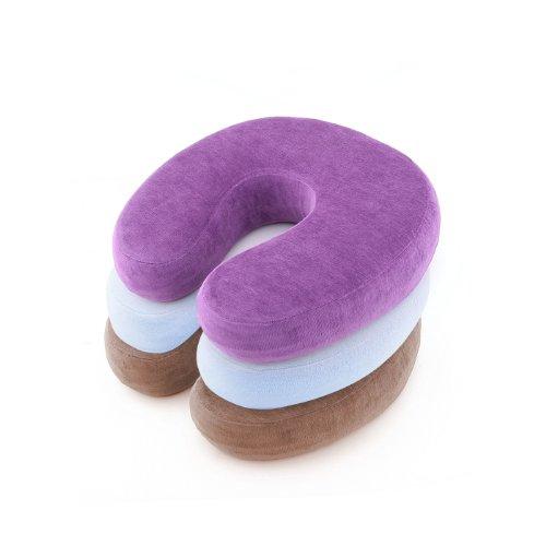 トラベルネックピロー Memory Foam U Shape Neck Pillow Travel Rest Pillow Cushion VOVOMART