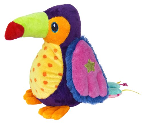 "Aurora World Crinkle Friends 10.5"" Toucan - 1"