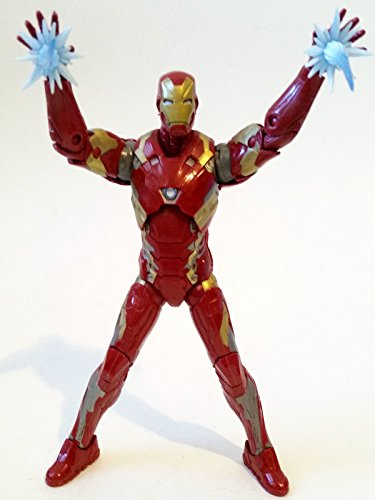 "Marvel Legends IRON MAN Mark 46 (Civil War Movie giant man BAF) 6"" Inch Avengers toy action figure"