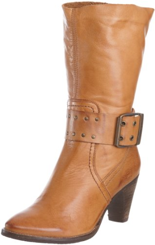 Maruti Women's Palmazio Leather Cognac Heel 66.30152.2024 5 UK